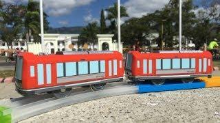 Plarail Hakone Tozan Railway series 3000 プラレール 箱根登山鉄道 3000形 visit Palácio do Governo Dili,(04189)