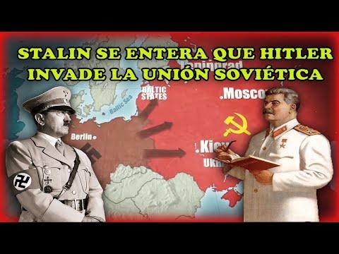 stalin-se-entera-que-hitler-invade-la-unión-soviética---operación-barbarroja