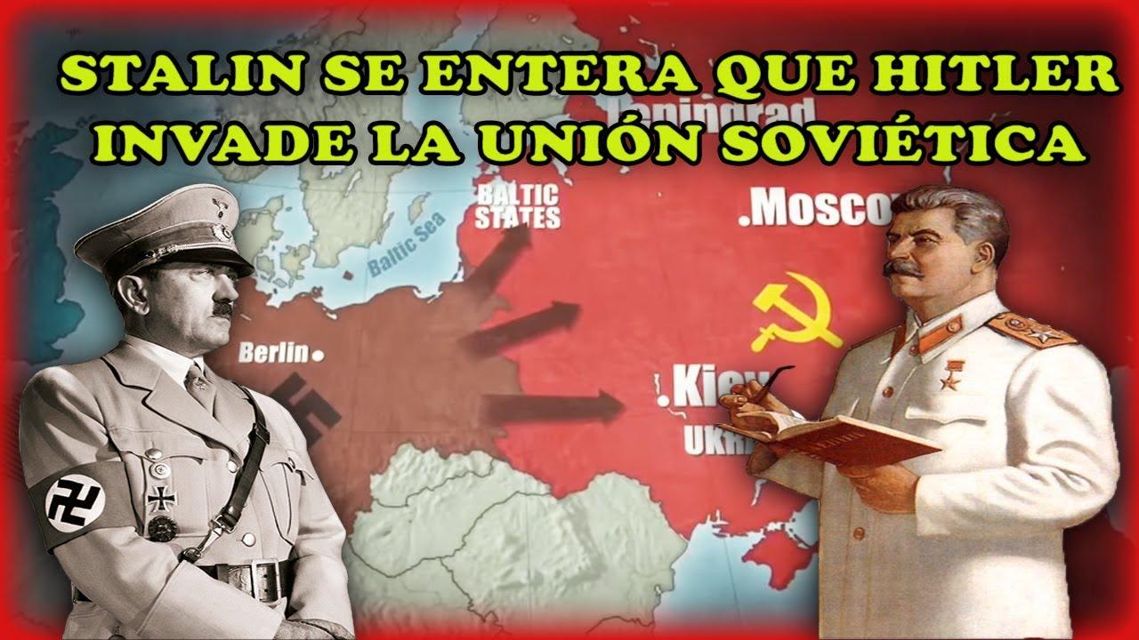Stalin se entera que Hitler invade la Unión Soviética - Operación Barbarroja