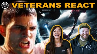 Veterans React: Navy Rescue Swimmer and Army Ranger