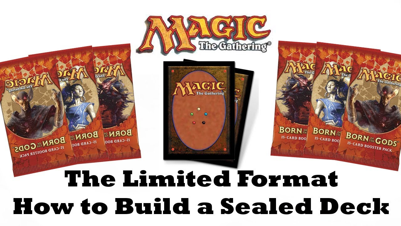 How To Build A Sealed Deck Magic