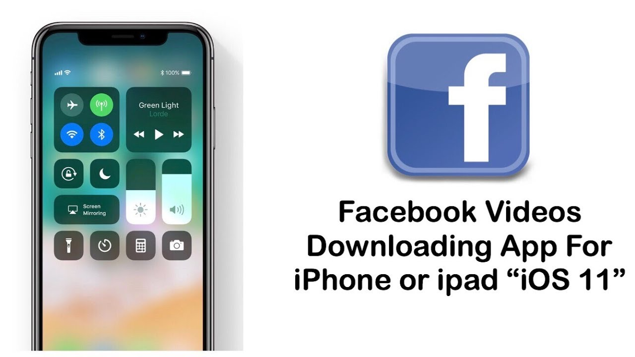[Hindi] Facebook Video Downloading App For iPhone or iPad