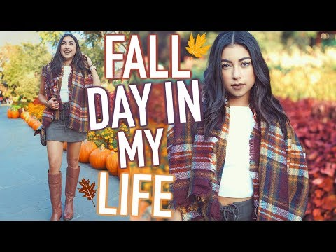 Fall Day in My Life! Fall Morning Routine + Fall Outfits! 2017