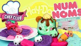 Num noms & Shopkins • Gotowanie z Play Doh • bajka po polsku