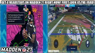 GET A HEADSTART ON MADDEN 21 RIGHT NOW! PLAY THE YARD NOW AND OUR FIRST LOOK AT YARD GAMEPLAY!