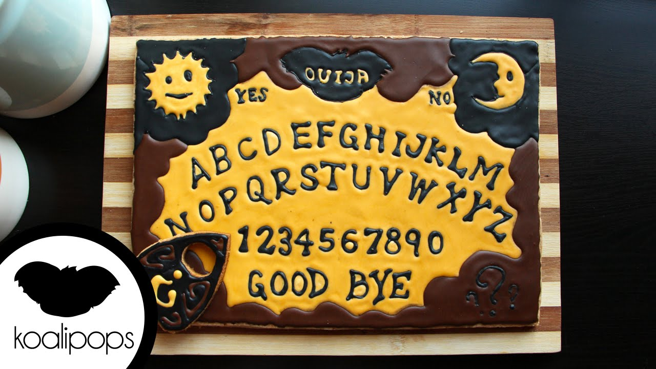 How To Make A Ouija Board Cookie