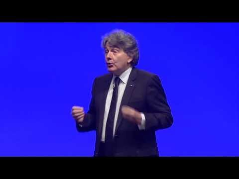 Thierry Breton, CEO, talking at vmworld