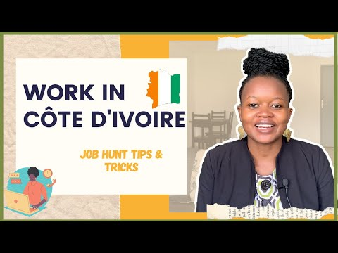 HOW TO FIND A JOB IN ABIDJAN IVORY COAST AS A FOREIGNER   The Abidjan Guide
