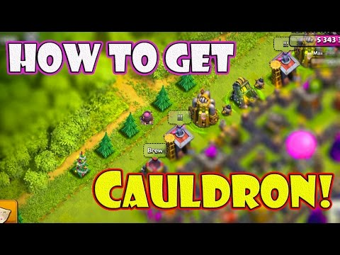 HOW TO SPAWN A CAULDRON! Clash of Clans - Get YOUR Cauldron EASY + FAST! New Halloween Update 2015
