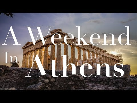My First True SOLO TRAVEL = A Weekend in Athens