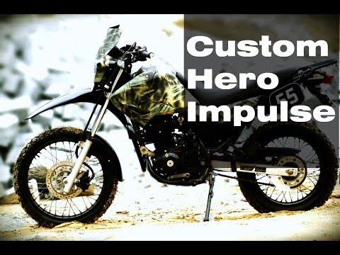 Custom Hero Impulse : Motorcraft Bangalore