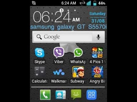 How To Install Android 4.1.1 On Samsung Galaxy Mini GT-S5570I