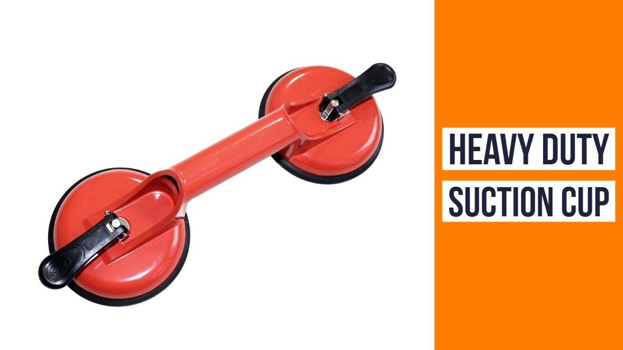 Suction Cup Plate Double Best Aluminium Handle Professional Glass Lifter Gripper