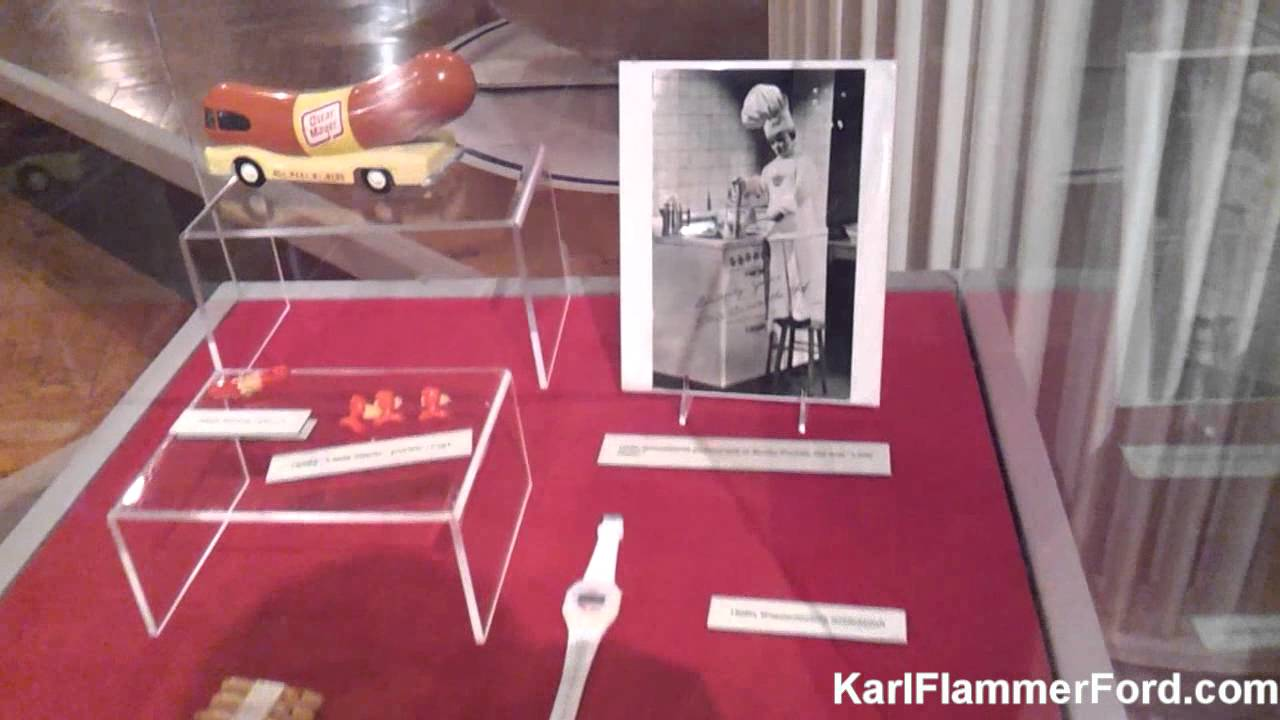 Karl Flammer Ford >> Henry Ford Museum: 1952 Oscar Mayer Wienermobile - YouTube