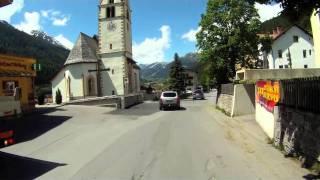 Drive Through Pettneu am Arlberg, Austria