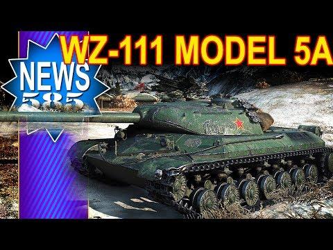 Nowy czołg WZ-111 model 5A - World of Tanks