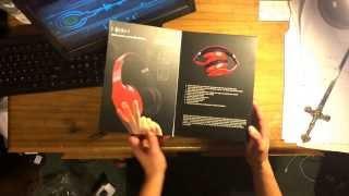 Blu HD wireless rhythmz headphones UNBOXING!
