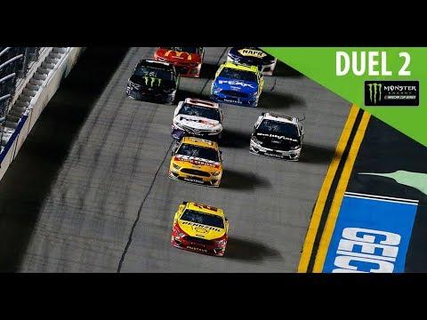 Monster Energy NASCAR Cup Series - Full Race Replay - Gander RV Duel 2 at DAYTONA