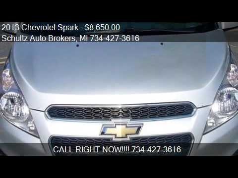 2013 Chevrolet Spark for sale in Livonia, MI 48150 at the Sc