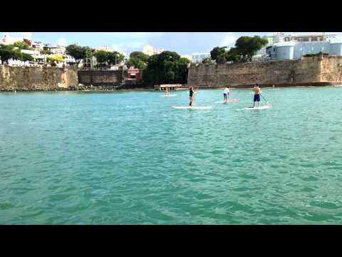VIP Adventures Puerto Rico | Paddleboarding Tour | Old San Juan