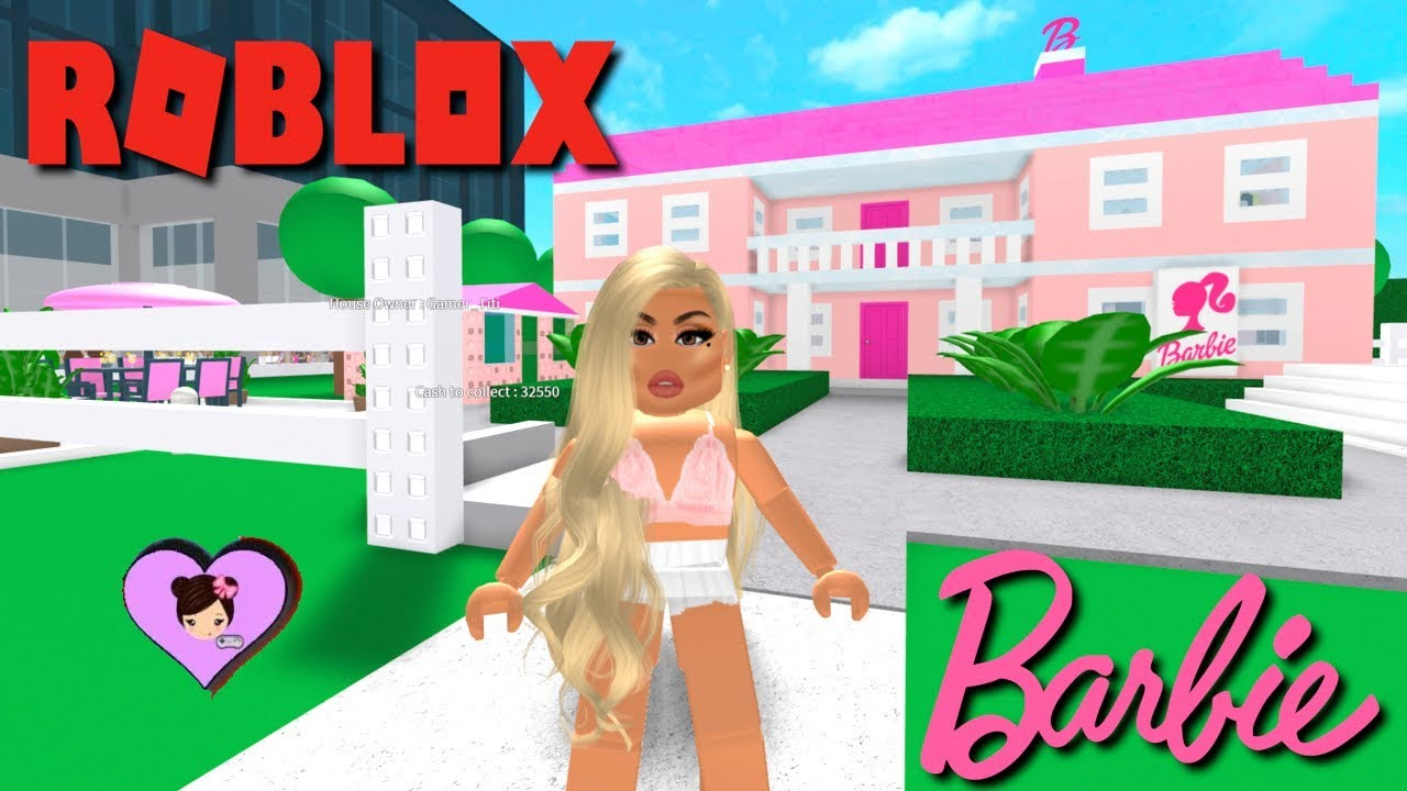 Moving In The Barbie Dreamhouse Adventures Mansion In Roblox