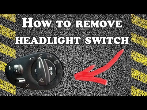 How To Remove Headlight Switch - 2001 Ford Focus