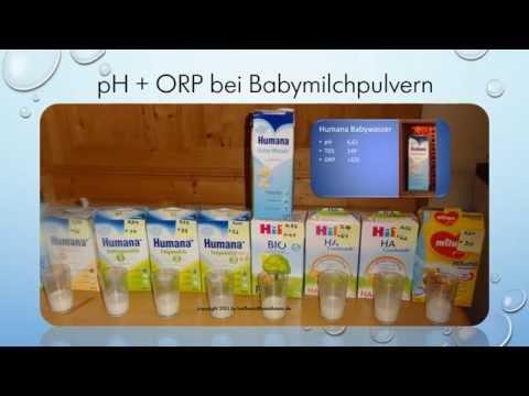 Babymilch und Wasserauswahl. Von Karl Heinz Asenbaum