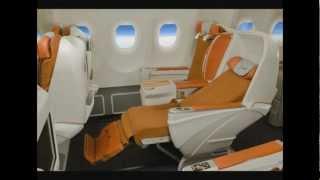 Анимация пассажирского кресла Airbus A330 для Аэрофлота(, 2012-04-30T13:19:56.000Z)