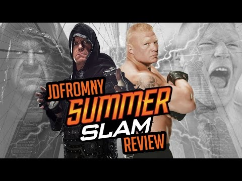 WWE Summerslam 2015 8/23/15 Review & Results