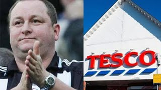 Why Mike Ashley is betting on Tesco