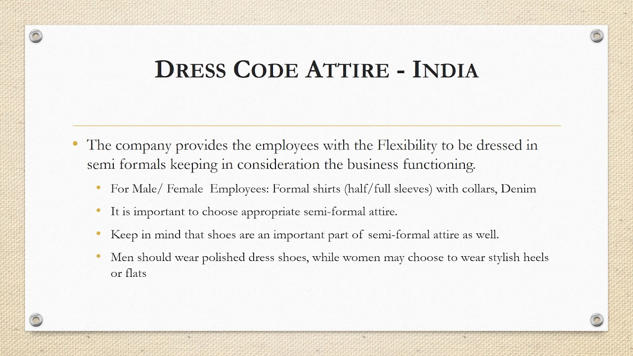 Sample Dress Code Policy Jeans   Lixnet AG