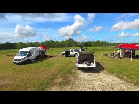 Drone video of borehole geophysics field trip @ La Marque, TX