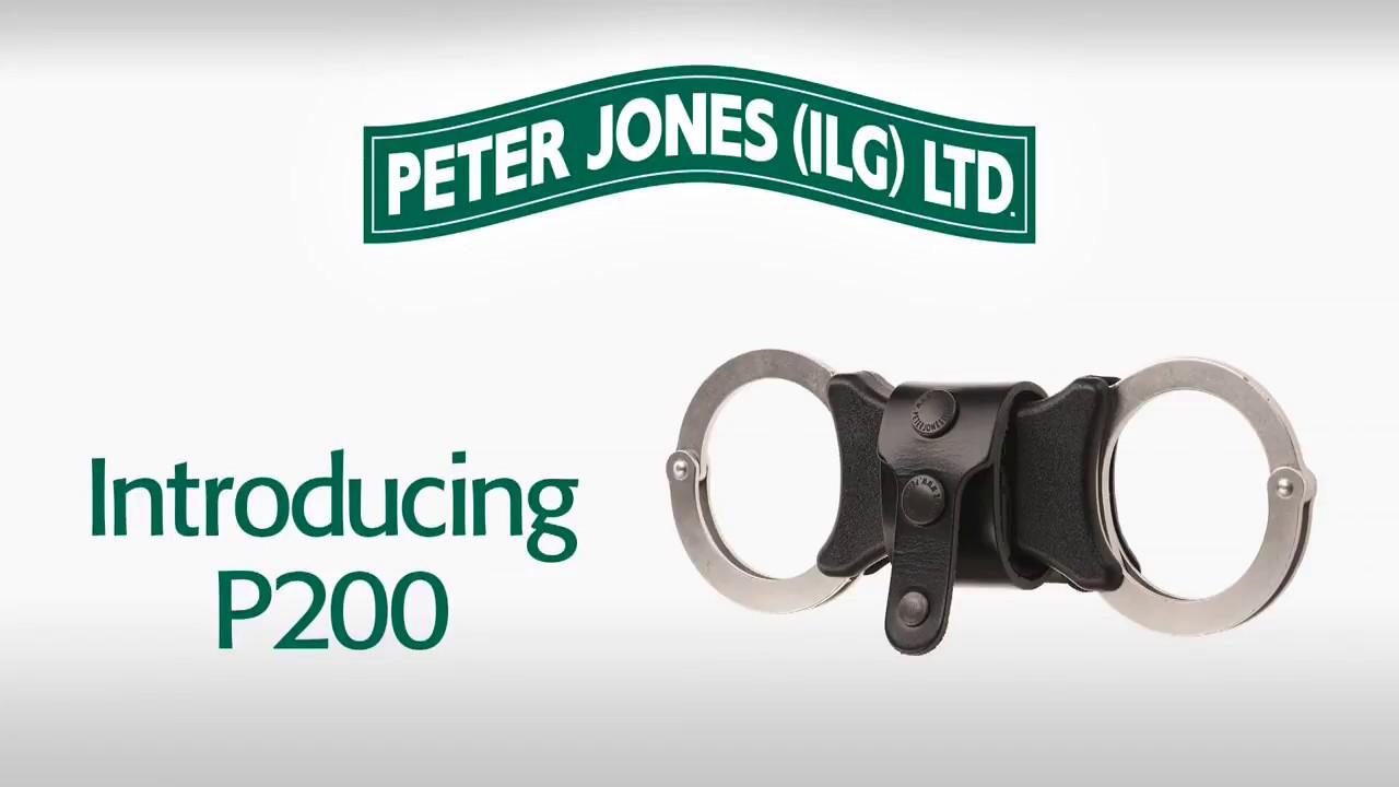 Peter Jones Speedcuff Holder with Ratchet Belt Loop P200 Police
