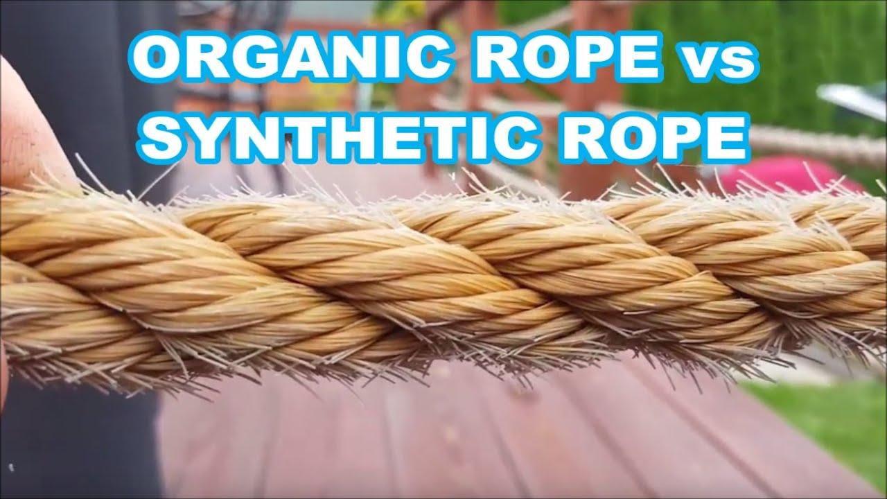 ProManila vs Organic Manila rope 2 years later (Sun rot vs mold)