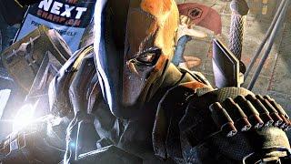 Batman Arkham Knight - DEATHSTROKE - Walkthrough Gameplay Part 48 (PS4)