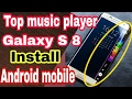 Samsung Edge Music Player on Your Android Device