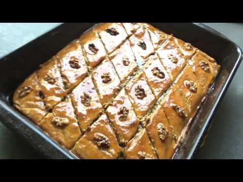 Армянская Пахлава! Пахлава на песочном тесте, в начинке много орехов!