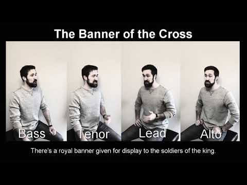 The Banner Of The Cross Compose By Rubee