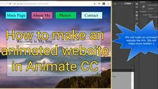 Animate CC de Hacer un sitio Web de Animación Sensible a Pantalla Completa sin ningún código. Tutorial Flash