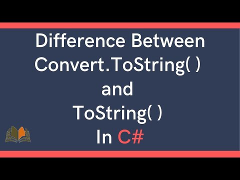 Difference Between Convert.ToString() and ToString() in C#