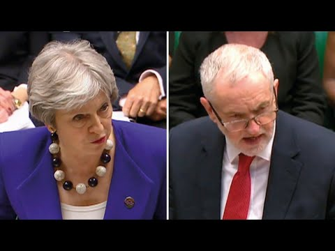 PMQs: May tells Corbyn destruction of Windrush landing cards was Labour's doing