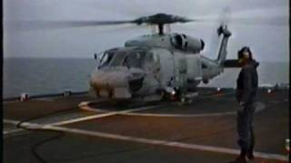 Sikorsky SH-60B launch 1994 USS Kinkaid