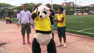 "Baile  Selección Colombia - Baila Chu Chu (Reggaeton) - Yerson y Stuard ""Los Farandulays"""