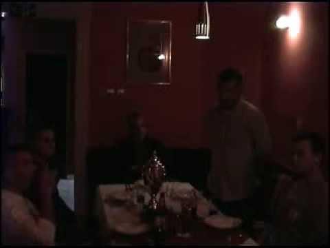 """Thank You"" Dinner in  Zrenjanin, Serbia (SERBIAN LANGUAGE)"