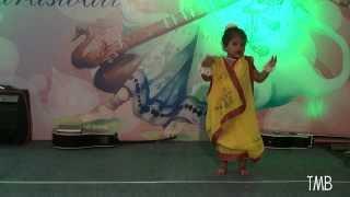 মেঘের কোলে রোদ হেসেছে - Dance Performance by  Gungun