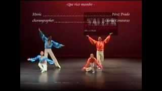 Que rico mambo Jambo Dance, mambo #5  Dancing Pérez Prado baile TCUNAM company