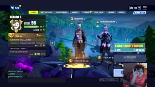 fortnite new turret and new korean alpine skin and trying to get night bot