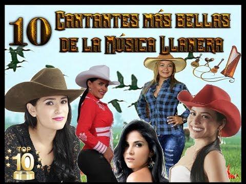 Musica Llanera Las 10 Cantantes Mas Bellas Youtube