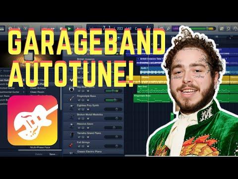 Garageband Autotune (Mac 2019) Pitch Correction Tutorial
