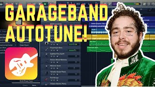 Garageband Autotune (Mac OSx) Pitch Correction Tutorial
